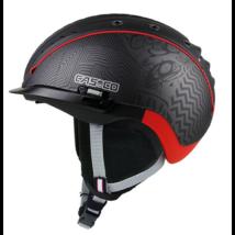 Casco SP-2 snowball sisak S-M(55-57) schwarz/rot sí bukósisak