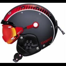 SP-3 Airwolf fekete/fehér/piros sí bukósisak