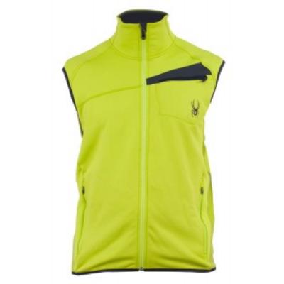 Spyder Bandit Vest Fleece mellény lime L
