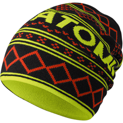 Atomic ALPS SLOUCH BEANIE BK/PEPPER/Wild Lime