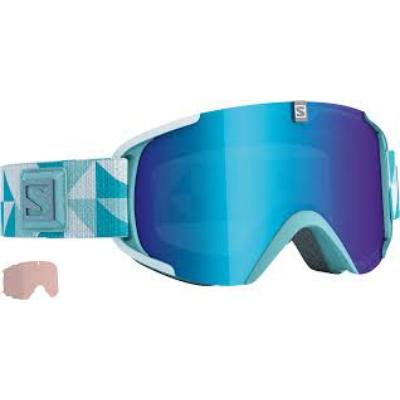 Salomon XVieww S Xtra Lens White/Uni. Mid Blue síszemüveg