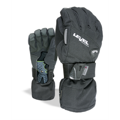 Level glove Fly PK Black 9,5-XL