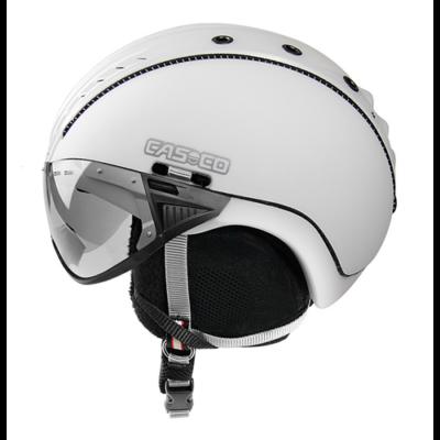 Casco SP-2 snowball visor sí bukósisak M(55-57) white