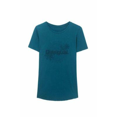 Desigual zöld rövid ujjú póló Essential S
