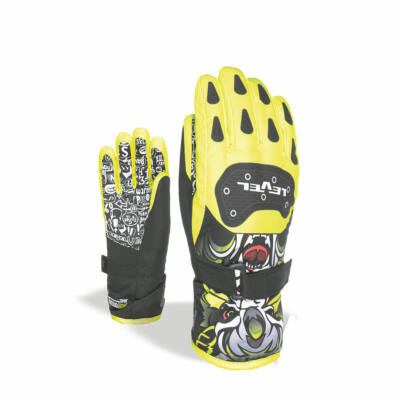 Level glove junior yellow