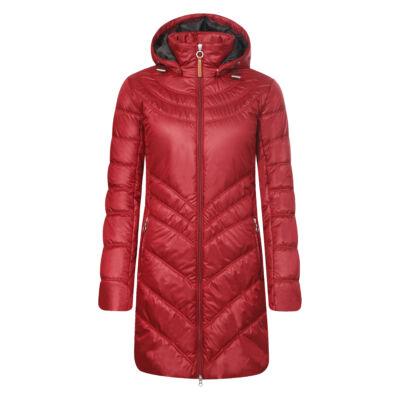 Luhta Jemina bordó női utcai kabát