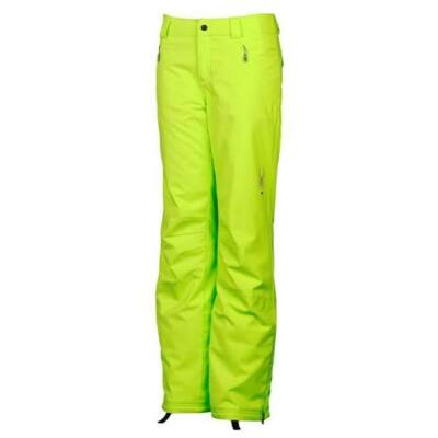 Spyder Thrill tailored fit lime pant 12