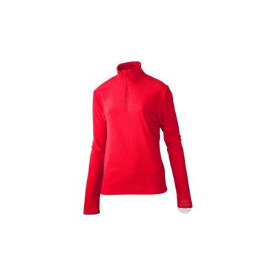 Stuf piros polár pulóver