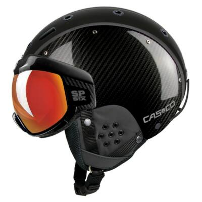 Casco SP-6 Visor limited Carbon sí bukósisak
