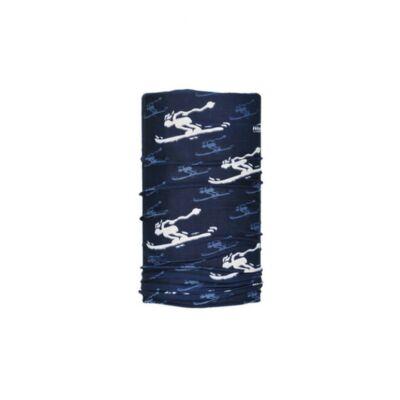 Wind csősál ski blue