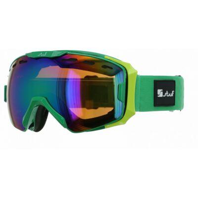 Stuf Vista zöld-lime síszemüveg