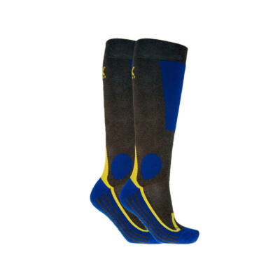 Völkl Ski All Terrain Socks 2-Pack, anthracite sízokni 35-38