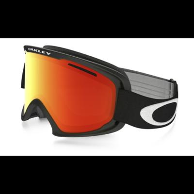 Oakley O2 XL Matte Black w/Fire Iridium síszemüveg