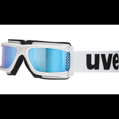 Uvex pocket white matt litemirror síszemüveg