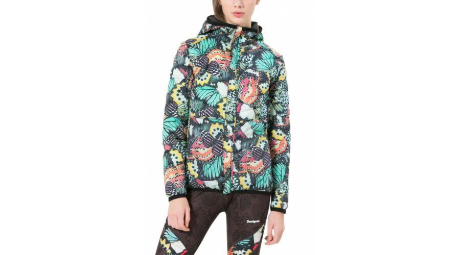 fbd900f54 Desigual Chaq bélelt női kabát Metamorphosis S